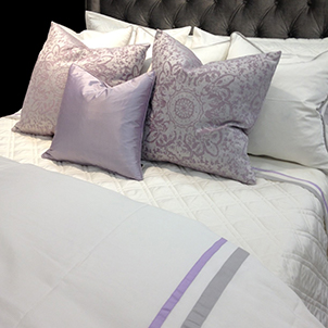 High Fashion Purple Bed